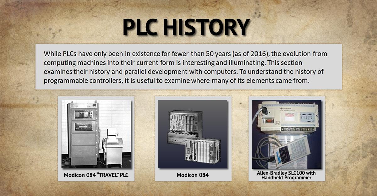 PLC Tarihi Görseli