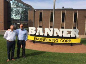 Dacel Mühendislik Banner Engineering Ziyaretleri
