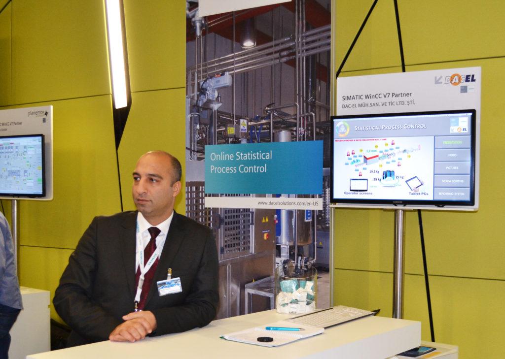 Siemens SPS IPC Fuarı Satış Müdürü - İbrahim GÖKÇEN