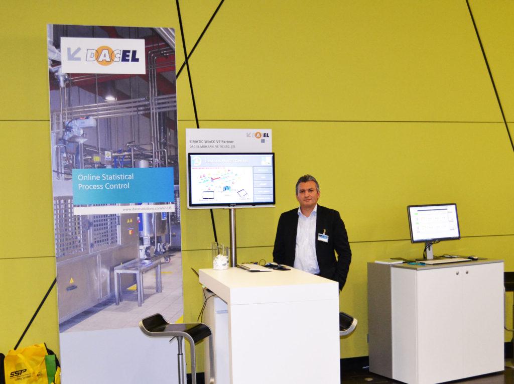 Siemens SPS IPC Fuarı, Proje Müdürü Ali Rıza İÇÖZ